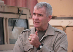 Top Iran-Contra Figure Oliver North and The Americans